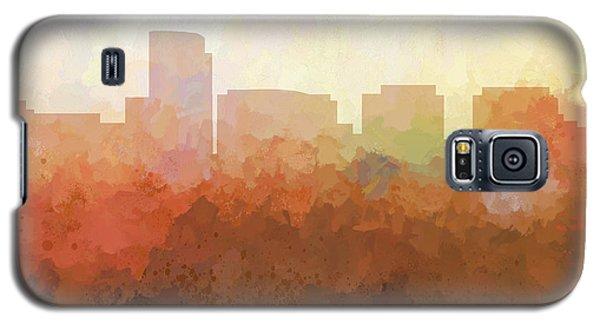 Galaxy S5 Case featuring the digital art Rosslyn Virginia Skyline by Marlene Watson