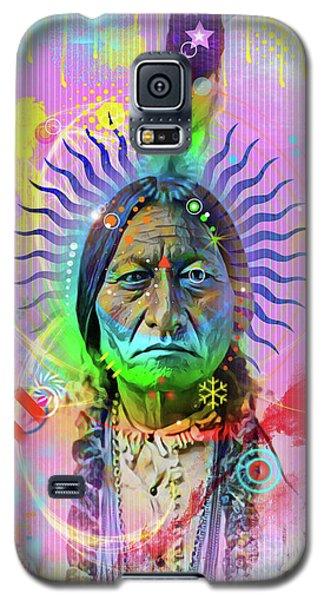 Sitting Bull Galaxy S5 Case by Gary Grayson