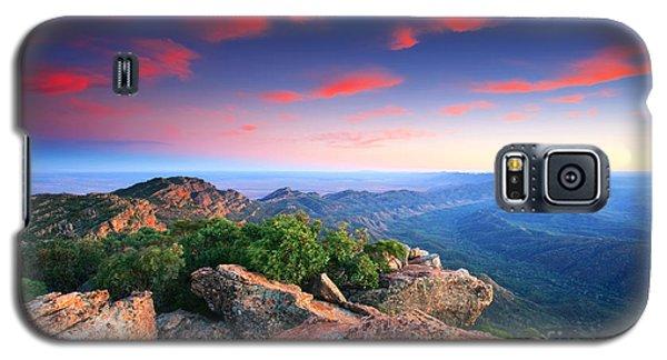 St Mary Peak Sunrise Galaxy S5 Case