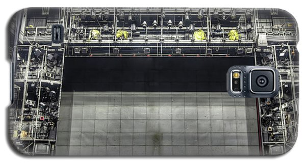 Galaxy S5 Case featuring the photograph Stage In The Abandoned Theatre by Michal Boubin