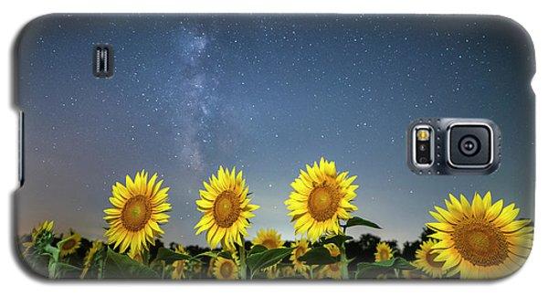 Sunflower Galaxy Iv Galaxy S5 Case