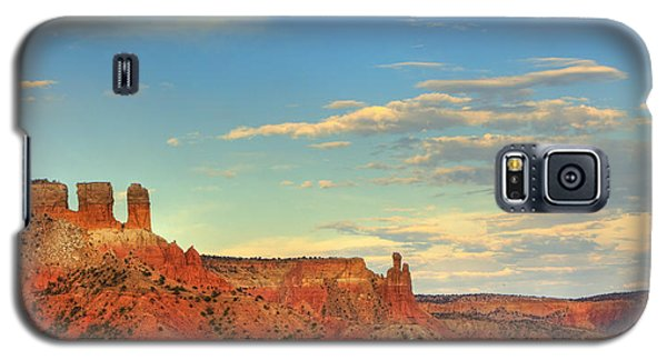 Sunset At Ghost Ranch Galaxy S5 Case