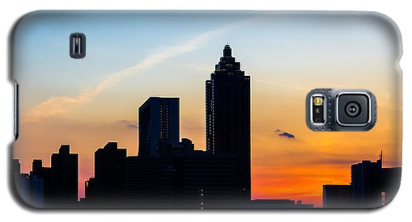 Sunset In Atlanta Galaxy S5 Case