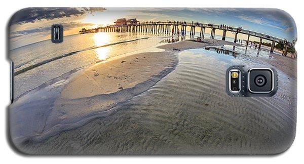 Sunset Naples Pier Florida Galaxy S5 Case