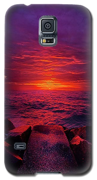 Galaxy S5 Case featuring the photograph The Path by Phil Koch