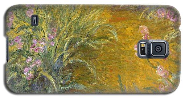 The Path Through The Irises Galaxy S5 Case by Claude Monet
