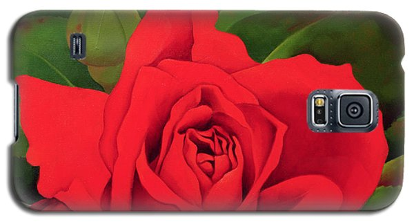 The Rose Galaxy S5 Case by Myung-Bo Sim