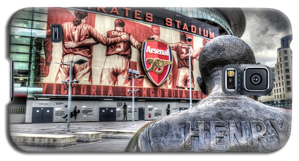 Thierry Henry Statue Emirates Stadium Galaxy S5 Case