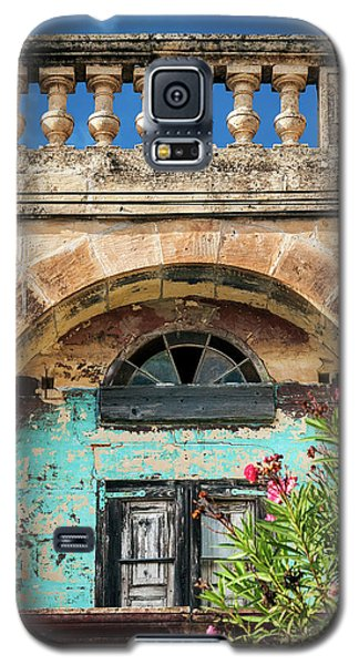 Traditional Mediterranean Maltese House Exterior Detail In Gozo  Galaxy S5 Case