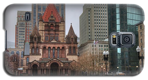 Galaxy S5 Case featuring the photograph Trinity Church - Copley Square - Boston by Joann Vitali