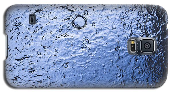 Water Abstraction - Blue Galaxy S5 Case