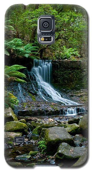 Waterfall In Deep Forest Galaxy S5 Case