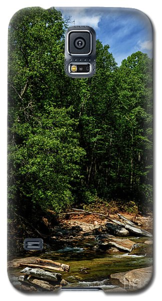 Galaxy S5 Case featuring the photograph Williams River After The Flood by Thomas R Fletcher