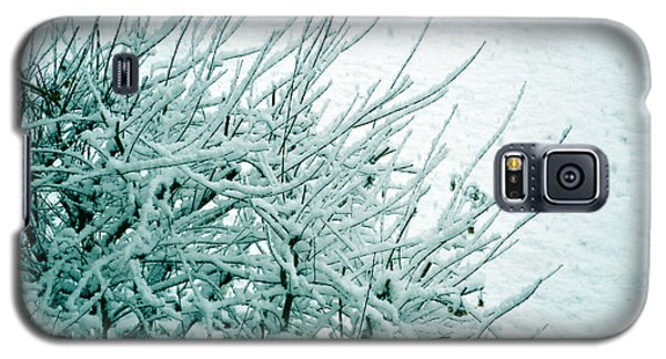 Galaxy S5 Case featuring the photograph Winter Wonderland In Switzerland by Susanne Van Hulst