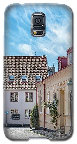 Galaxy S5 Case featuring the photograph Ystad Street Scene by Antony McAulay