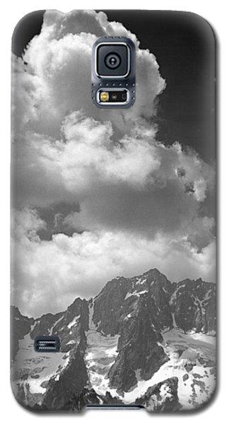 304638 Clouds Over Mt. Stuart Bw Galaxy S5 Case