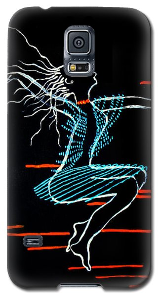 Dinka Dance - South Sudan Galaxy S5 Case by Gloria Ssali