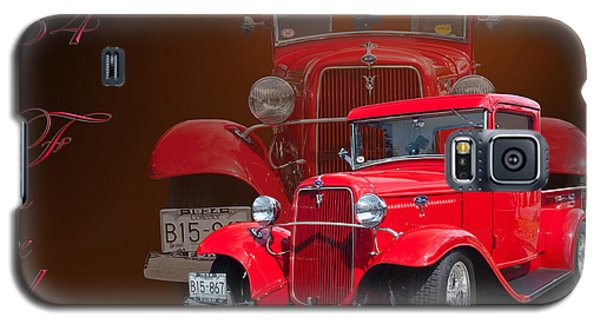 34 Ford Pick Up Galaxy S5 Case