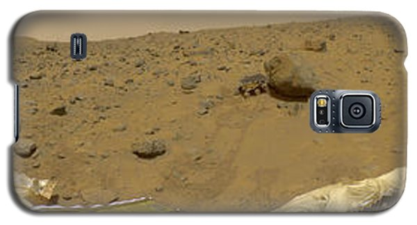 360 Degree Panorama Mars Pathfinder Landing Site Galaxy S5 Case