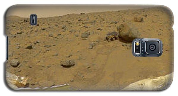 360 Degree Panorama Mars Pathfinder Landing Site Galaxy S5 Case