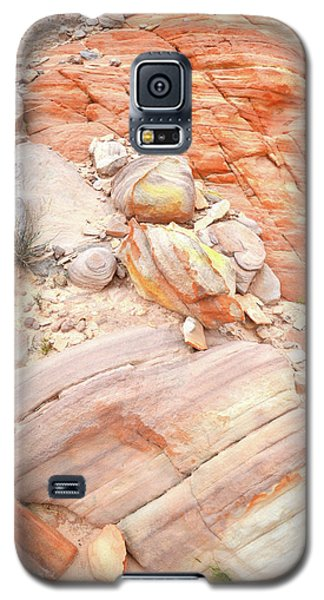 Galaxy S5 Case featuring the photograph Multicolored Sandstone In Valley Of Fire by Ray Mathis
