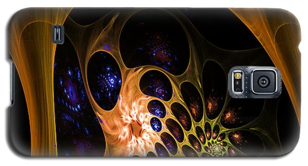 3d Chaotica Galaxy S5 Case by Ernst Dittmar