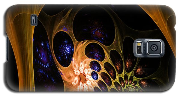 3d Chaotica Galaxy S5 Case