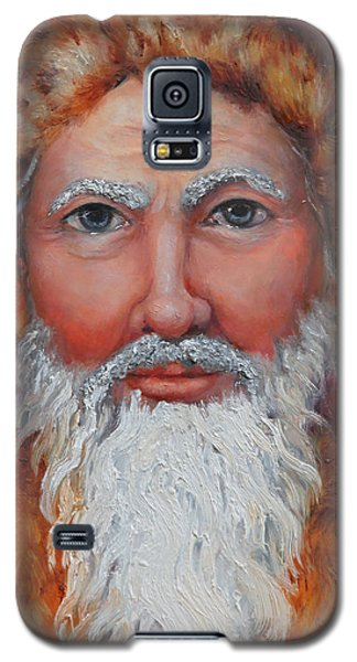 3d Santa Galaxy S5 Case