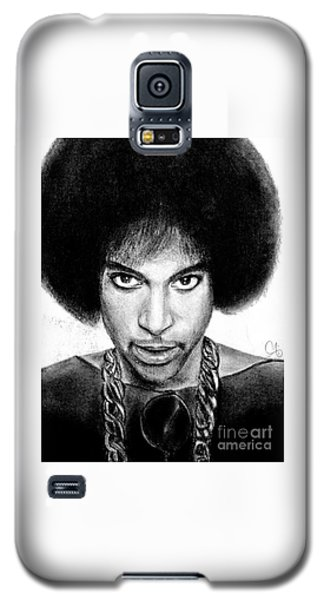 3rd Eye Girl - Prince Charcoal Portrait Drawing - Ai P Nilson Galaxy S5 Case