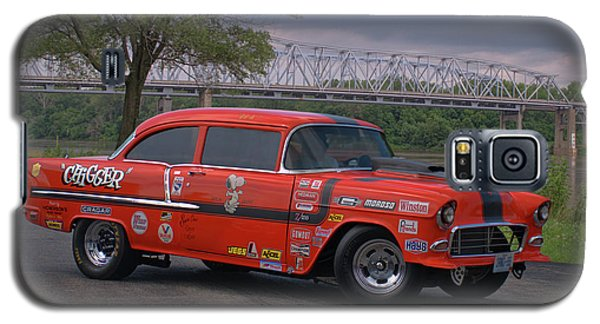 Galaxy S5 Case featuring the photograph 1955 Chevrolet by Tim McCullough