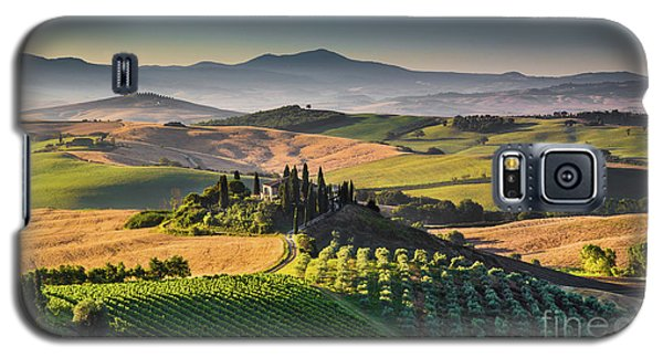 A Morning In Tuscany Galaxy S5 Case by JR Photography