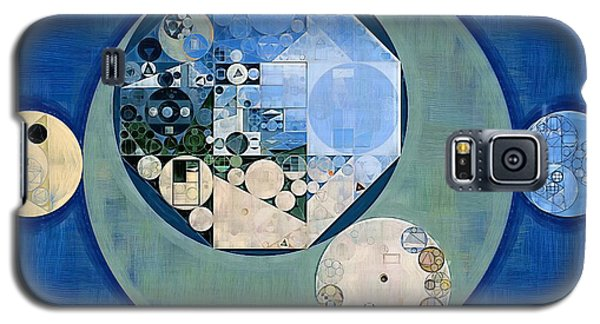 Galaxy S5 Case featuring the photograph Abstract Painting - Bermuda Grey by Vitaliy Gladkiy