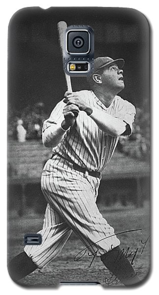 Babe Ruth  Galaxy S5 Case by American School