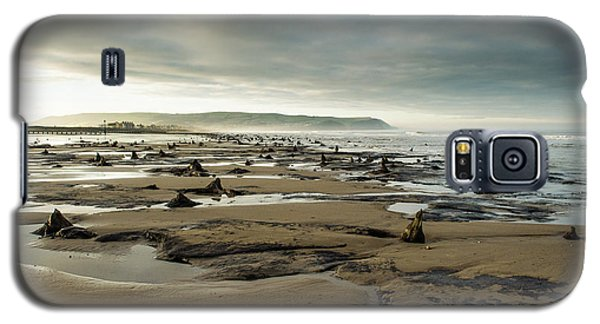 Bronze Age Sunken Forest At Borth On The West Wales Coast Uk Galaxy S5 Case