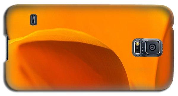 Californian Poppies Galaxy S5 Case