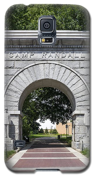 Camp Randall Memorial Arch - Madison Galaxy S5 Case by Steven Ralser