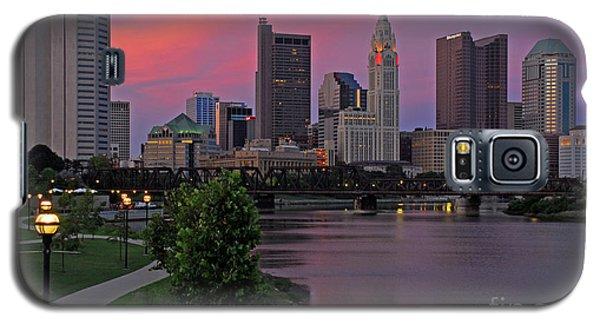 D2l37 Columbus Ohio Skyline Photo Galaxy S5 Case