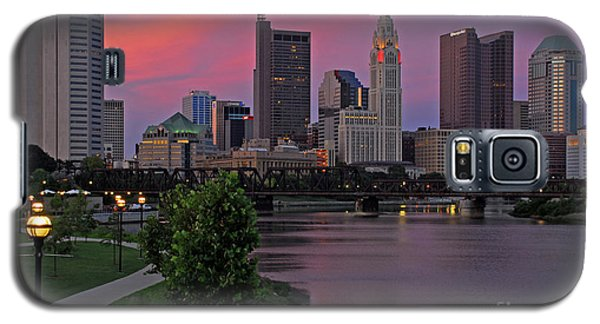 D2l37 Columbus Ohio Skyline Photo Galaxy S5 Case