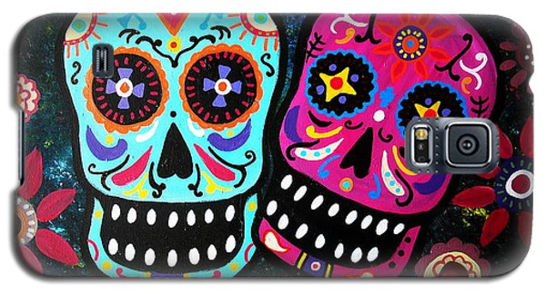 Couple Day Of The Dead Galaxy S5 Case