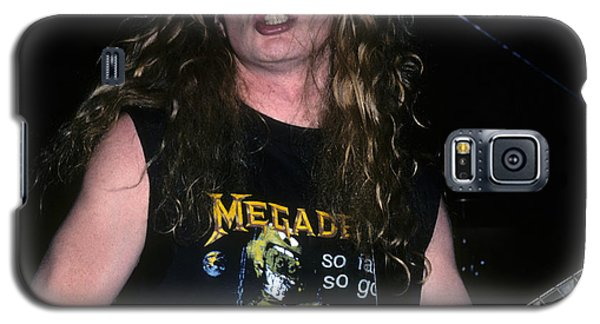 Dave Mustaine Of Megadeth Galaxy S5 Case