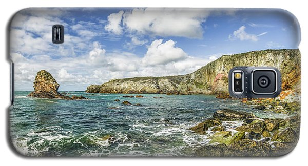 Galaxy S5 Case featuring the photograph Gwenfaens Pillar by Ian Mitchell