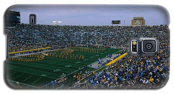 High Angle View Of A Football Stadium Galaxy S5 Case