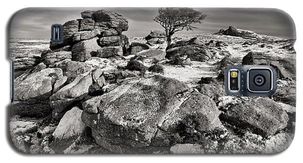 Holwell Tor On Dartmoor Galaxy S5 Case