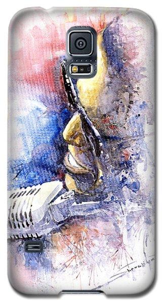 Portret Galaxy S5 Case - Jazz Ray Charles by Yuriy Shevchuk