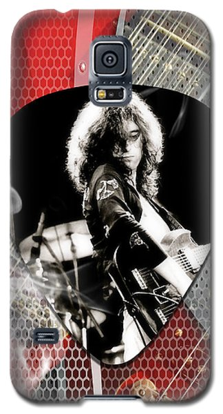 Jimmy Page Art Galaxy S5 Case by Marvin Blaine