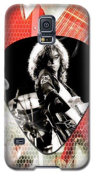 Jimmy Page Led Zeppelin Art Galaxy S5 Case