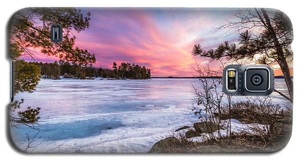 Galaxy S5 Case featuring the photograph Lake Winnipesaukee by Robert Clifford