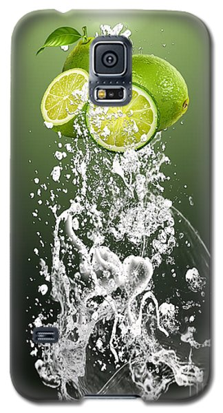 Lime Splash Galaxy S5 Case by Marvin Blaine