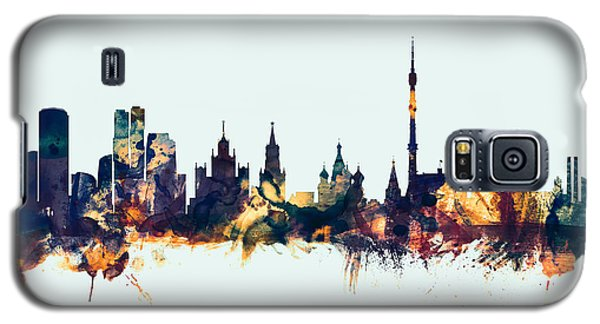 Moscow Russia Skyline Galaxy S5 Case