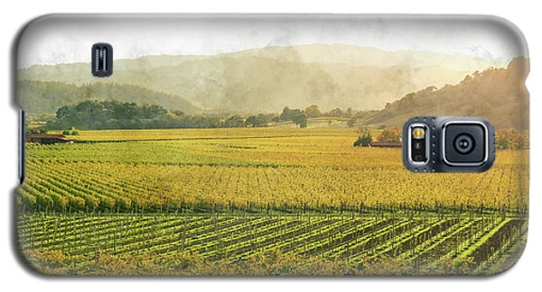 Napa Valley California In Autumn Galaxy S5 Case
